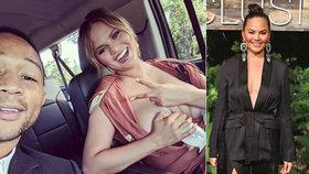 Slavná modelka, kterou při porodu roztrhli, šokuje fotkou prsu s mlékem!