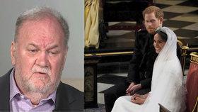 Otec Meghan zmrazil Harryho: To, co mu vpálil po telefonu, je k nevíře!