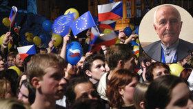 Zařizoval vstup ČR do EU: Vládlo nadšení a odhodlání, pesimismu Čechů je škoda