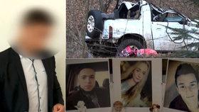 Šest let za tři mrtvé mladé! Slavomír (19), který řídil opilý, půjde do vězení
