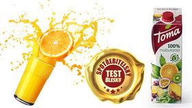 Test multivitaminových džusů: Více vitaminové a kalorické jako limonády