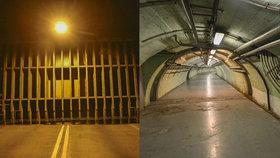 Strahovský tunel může sloužit jako kryt pro 15 tisíc Pražanů. Prošli jsme jeho komplex