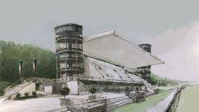 Nová tribuna, stáje i haly: Závodiště ve Velké Chuchli se chce vrátit mezi evropskou elitu