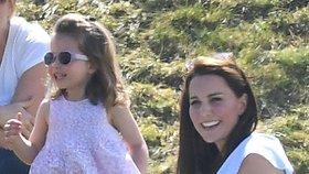 Malá Charlotte je posedlá módou, říká o své dceři princ William
