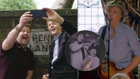 Britský showman vzal Paula McCartneyho (76) na emotivní projížďku do míst, kde vyrůstal: Vrátili »Broukovi« mládí!