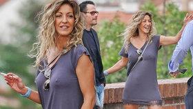 Sexy snoubenka herce Filipa Blažka: Bradavky v pozoru!
