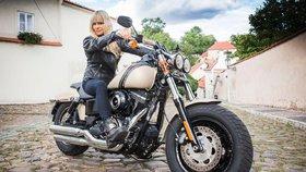 """Karen Davidson, pravnučka zakladatele Harley-Davidson, exkluzivně pro Blesk: """"Těším se do hrdé Prahy"""""""