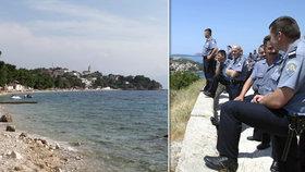 Turista (†26) byl ubodán na chorvatské pláži. Všude byla krev, říká svědek