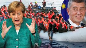 """Češi """"zatopili"""" Merkelové kvůli migraci. Její mystifikace rozezlila vládní kolegy"""