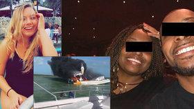 V dovolenkovém ráji vybuchla loď s turisty: Nadějná tanečnice přišla o nohy, další žena zemřela