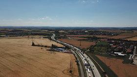 Pražský okruh u Počernic vedený tunelem? Vhodnější budou protihluky, navrhuje ŘSD