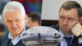 Ruští oligarchové se zbavují tryskáčů. Drtí je sankce, nemají na leasing