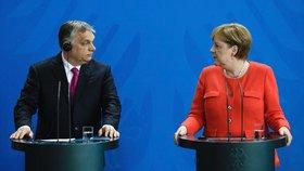 Merkelová na Orbána zkoušela kvůli migrantům přes srdce. Premiér byl neoblomný