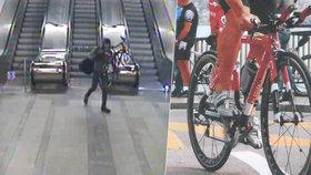 Neuvěřitelná smůla! Cyklistovi na apríla dvakrát vykradli auto, přišel o kolo za 150 tisíc