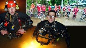 Pro chlapce v jeskyni už plánují grilování prasete. Kdo za hrdiny jim v Thajsku pomáhá?