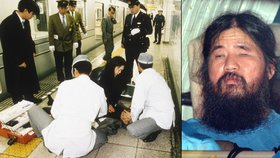 Strůjce útoku sarinem v tokijském metru oběsili. Oprátka čekala i šest kompliců