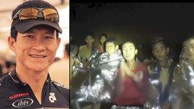 Záchrana chlapců z jeskyně má první oběť. Babiš: Do Thajska letí čeští experti
