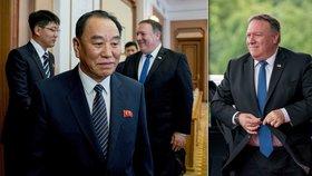 Trumpův muž přiletěl do KLDR. Bude Pompeo s Kimem jednat o konci jaderné hrozby?