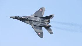 V Polsku se zřítil další MiG-29. Zkušený pilot nepřežil katapultaci
