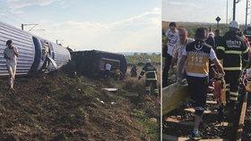 Pod projíždějícím vlakem se zřítil most. Na místě je nejméně 10 mrtvých a 70 zraněných