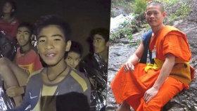 Trenér uvězněných chlapců z jeskyně: Bývalý mnich odmítal jíst, aby je udržel naživu