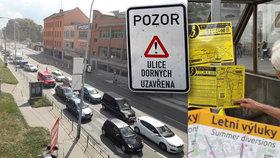 Pozor! Průjezd centrem Brna se ve čtvrtek změní: Moravské náměstí se úplně uzavře