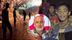 """Smrtelná jeskynní nemoc je i v Česku. Zachráněným chlapcům hrozí také """"ničivá fobie"""""""