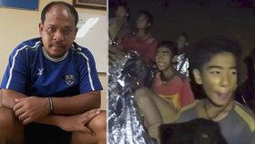 """""""Chci ho obejmout."""" Táta thajského chlapce popsal dny plné zoufalství i naděje"""