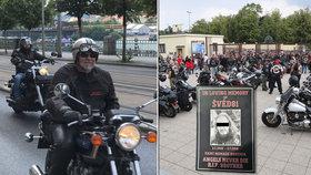Zemřel v den svých narozenin: Kdo byl motorkář »Švéd81« z Hells Angels? Na pohřeb mu přijelo 500 kamarádů