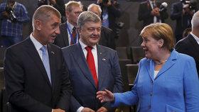 Babiš pojede za Merkelovou kvůli migraci. Mluvit chce také o EU a brexitu
