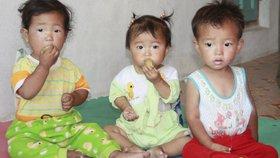 Podvyživené děti, špinavá voda. Zástupce OSN popsal tristní podmínky v KLDR