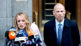 """Právník """"Trumpovy"""" pornohvězdy unikne vězení. Napadení přítelkyně je přestupek"""