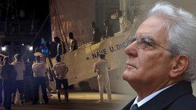 67 migrantům dovolili vylodit se v Sicílii. Prezident tím naštval ministra vnitra
