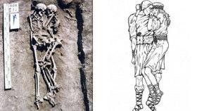 Láska až za hrob. Na Ukrajině našli kostry z doby bronzové, pár leží v milujícím objetí