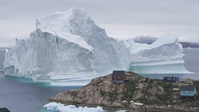Obří ledovec děsí grónskou vesnici. První lidi už museli evakuovat