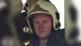 Zemřel hasič Luboš (†43): Zůstaly po něm dvě děti