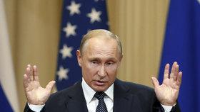"""""""Nejsou to žádní zločinci,"""" řekl Putin o údajných útočnících na Skripala"""