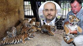 Kauza tygřích jatek: Už rok jsem měl podezření, říká ředitel pražské zoo Miroslav Bobek