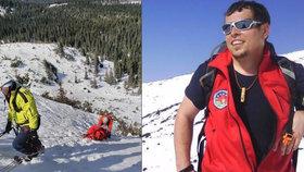 Slováci oplakávají člena horské služby: Ruda (†34) podlehl po deseti letech těžké nemoci