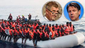 Záhadné utonutí migrantů: Sicilské úřady zjišťují, proč skočili do moře
