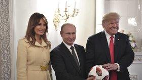 Trump se těší na další setkání s Putinem: Nikdo netuší, co vlastně domluvili