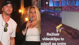 Bizarní křest Sámera a mladé Štiky neunesl režisér videoklipu! Ustlal si na ulici