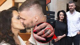 Chystá svatbu? Bílá opět navlékla prsten od testosteronového anděla!