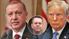 Trump žádá o propuštění amerického pastora. Erdogan ho od puče vězní