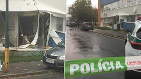 Výbuch na poliklinice v Bratislavě! Exploze vyvalila stěnu ambulance