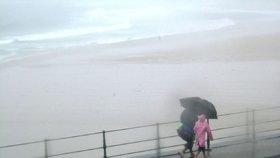 Potíže dovolenkových rájů Čechů: Silné bouřky zasáhly Itálii a Chorvatsko, hrozí sesuvy půdy