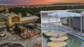 Světové mistry vystřídala obrazovka: Křižíkova fontána chátrá, její budoucnost je nejasná