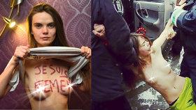 """Zakladatelka (†31) nahých aktivistek Femen spáchala sebevraždu: """"Všichni jste falešní"""""""