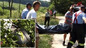Martin (†40) s dcerou (13) havarovali na motorce, táta na místě umřel
