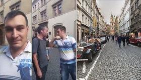 """Taxikář v Praze napadl ženu. """"Aby tě někdo nakopal do kun*y svý matce,"""" vyhrožoval zastupiteli"""